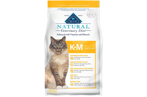 Blue Buffalo Natural Veterinary Diet Kidney Support Dry Cat Food