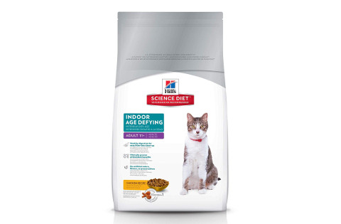 Hill's Science Diet Senior Indoor Cat Food