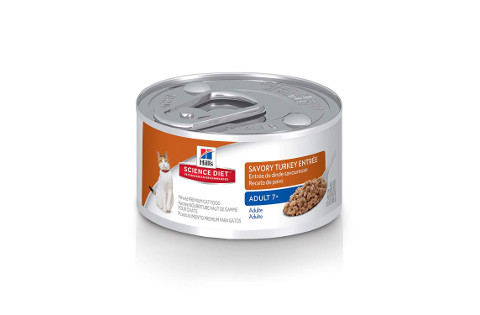Hill's Science Diet Wet Cat Food Savory Turkey