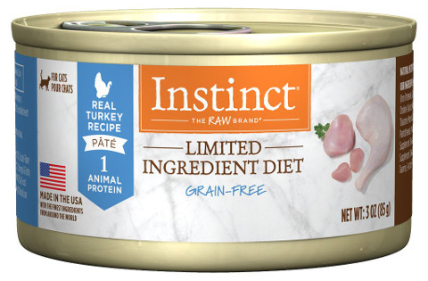 Instinct Limited Ingredient Grain Free Wet Canned Cat Food