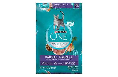 Purina One Hairball Formula Cat Food