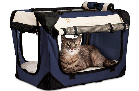 Petluv Happy Cat Premium Soft-Sided Foldable Carrier