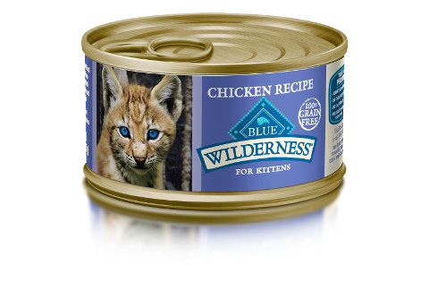 Blue Buffalo Wilderness Kitten Wet Food