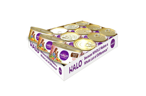 Halo Grain Free Natural Wet Food