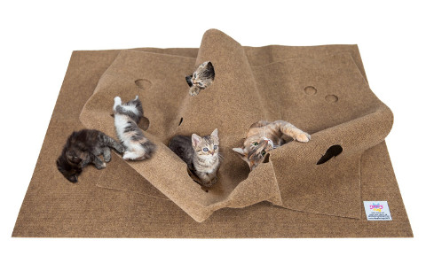 Ripple Rug Play mat for cats