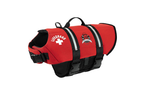 Paws Aboard Red Neoprene Life Jacket