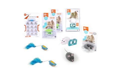 Hexbug Deluxe Nano Cat Toy Pack